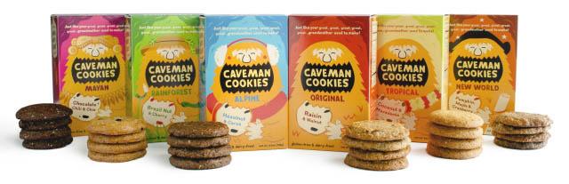 Caveman Cookie Varieties